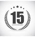 template logo 15 years anniversary