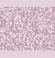 the light purple square mosaic tiles background vector image vector image