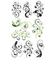 Artistic flowery designs vector | Price: 1 Credit (USD $1)