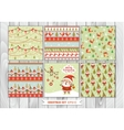 big set christmas graphic elements in christmas vector image vector image