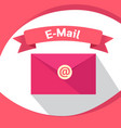 business email marketing technology digital vector image