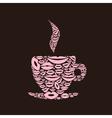 Cup a lip vector image vector image