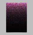 diagonal square pattern brochure design - mosaic vector image vector image