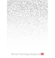 Gray Technology Pixel Backgroundt A4 size vector image vector image