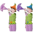 little elves vector image vector image