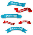 octoberfest gothic calligraphic hand lettering vector image vector image
