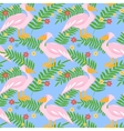Pelican seamless pattern vector image vector image