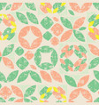 beige seamless pattern colorful abstract vector image