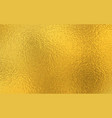 gold foil shiny paper texture background vector image vector image