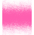 graffiti effect winter gradient background in pink vector image vector image