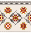Horizontal seamless pattern with ornament vector image vector image
