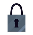 padlock security protection vector image vector image