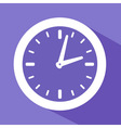 a clock symbol vector image vector image