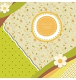 Abstract banner retro card vector image vector image