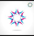 creative design symbol vector image vector image