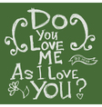 do you love 202 2 02 vector image vector image