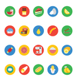 Food Icons 6 vector image