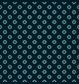 rhombuses star polka dot retro floral pattern vector image