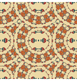 Seamless background from a floral ornament vector image vector image