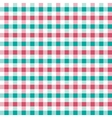 seamless retro squared fabric vector image vector image