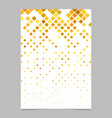 Square pattern brochure template - tiled mosaic
