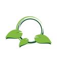 green environement concept design vector image