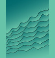 abstract wavy background for design vector image vector image