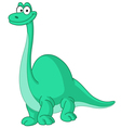 brontosaurus dinosaur vector image