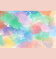 children art colorful messy watercolor background vector image vector image