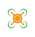 drone icon logo image vector image vector image