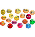 emotions eyes with expression vector image vector image