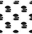 mushroomes icon in black style isolated on white vector image vector image
