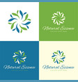 natural essence logo and icon vector image