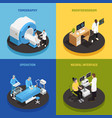 neurology concept icons set vector image