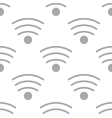 New Wi-fi seamless pattern vector image vector image