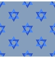 Stars of David Isolated Seamless Pattern vector image vector image