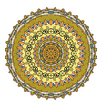 Steampunk round ornament vector image vector image