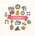 Casino Concept vector image vector image