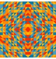 Colorful trianglulation pattern vector image
