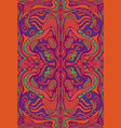 vintage psychedelic hippie colorful background vector image vector image