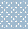 abstract minimal blue polka dot seamless pattern vector image vector image