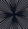 background with black chaotic lines moire style vector image vector image