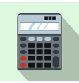 Calculator icon flat style vector image vector image