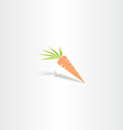 carrot icon logo vector image vector image