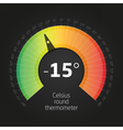 CelsusRoundThermometer vector image