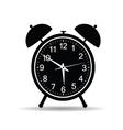 clock in retro style vector image