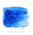 navy blue indigo watercolor texture background vector image vector image