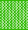 seamless pattern green triangles vector image vector image