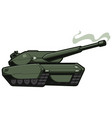 tank on white vector image