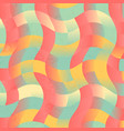 abstract colorful curved pattern background vector image vector image